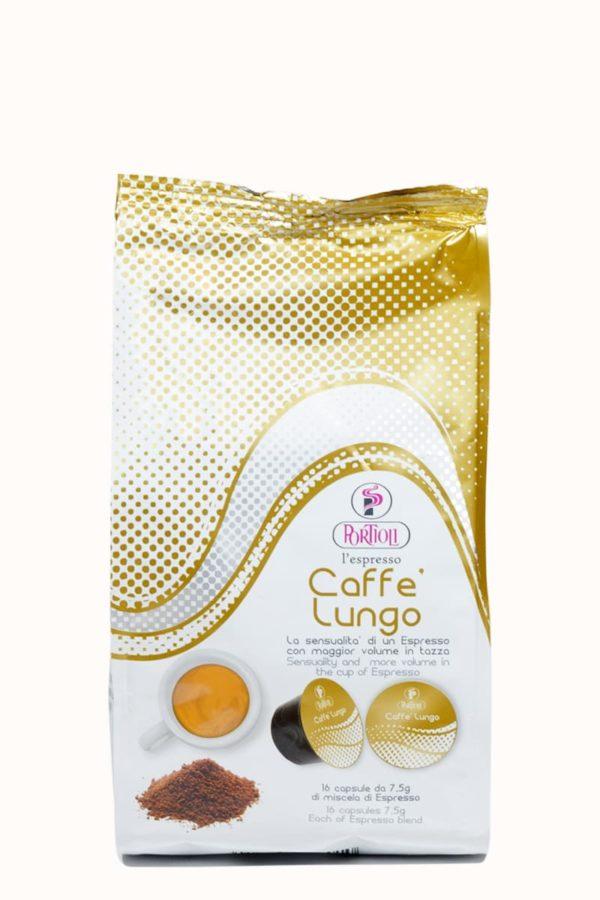 Кофе Portioli Caffè Lungo в капсулах