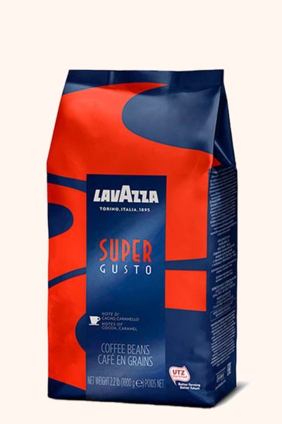 Кофе Lavazza Super Gusto UTZ CoffeeShopper.ru
