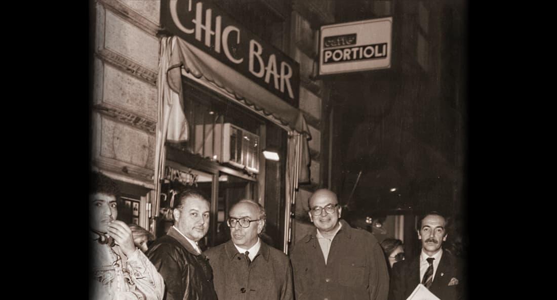 Открытие кофейни Portioli в Милане