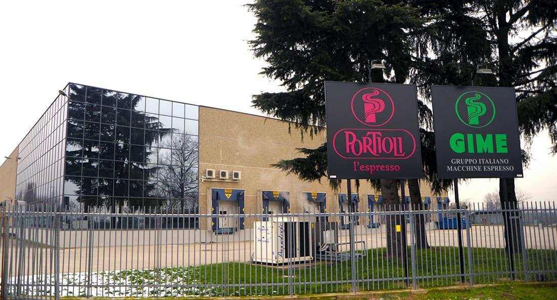 Второй филиал Portioli в Tribiano