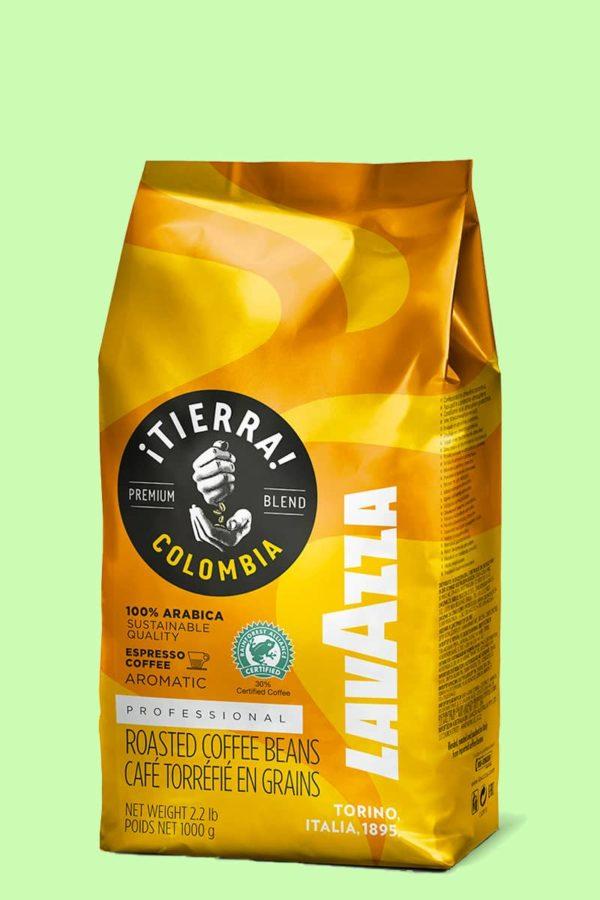 Кофе Lavazza Tierra Colombia в зёрнах